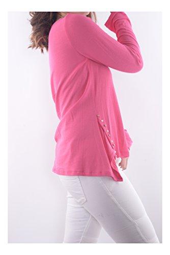 Ig006 mujer Moderno Varios Hecho Camisas en Abbino Italia Transici Tops de colores Bx74AHqd