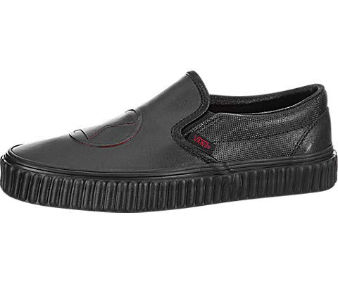 bd6077bde3ec49 Galleon - Vans Classic Slip-On (Marvel) Black Widow Black VN0A38F7U7K Mens  5.5