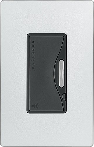 Cooper Wiring Devices RF9542-ZSG Aspire RF Accessory Smart Dimmer with LED's, Silver Granite by Cooper Wiring Devices