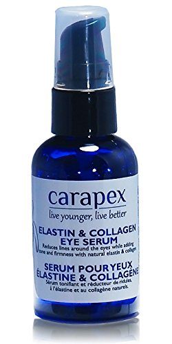 Carapex Elastin & Collagen Anti Aging Serum, for Wrinkles, Dark Circles and Puffiness, Fragrance Free, Paraben Free for Sensitive Skin CP2054