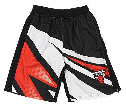 Nba Womens Shorts - NBA Men's MotorCross Athletic Shorts, Team Options (Chicago Bulls, Small)
