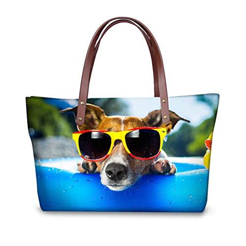 Multicolore pour chat Funny femme Dog showudesigns Cabas qB0WtwtA
