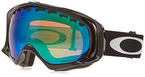 Oakley Crowbar Snow Goggles, Jet Black, Prizm Jade - Oakley Sunglasses Obsessed