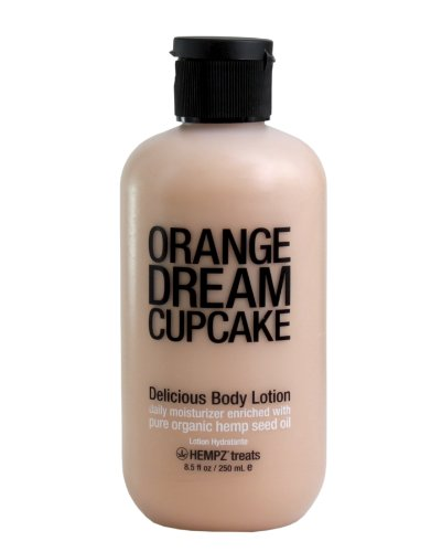 Supre Hempz Treats Orange Dream Cupcake Body Lotion 8.5oz