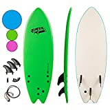 "Goplus 5'5"" Surfboard, Soft Top Surf"