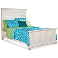 American Woodcrafters Pathways White Twin Panel Bed