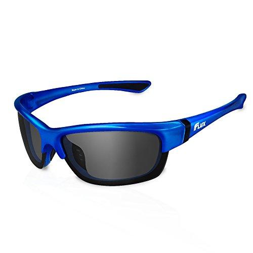 Flux Polarized Sports Sunglasses for Men & Women (Avento) - Outdoor ()