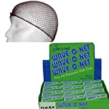 Jac O Net Wave O Net The All Purpose Hair Cap 24 Nets Per Box Color: Brown