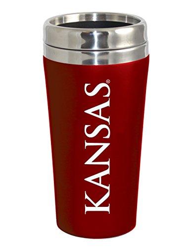 Kansas Jayhawks Travel Mug - 8