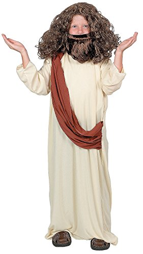 [Child Jesus Costume Size 11-14 (no wig)] (Bible Costumes For Kids)