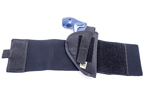 """Outbags OB-15ANK Nylon Neoprene Ankle Holster for 2"""" Small Frame Revolvers: Taurus 405 / 441 / 451 / 605 / 851 / M850 / 85 Protector Polymer, Ladysmith Airweight, Diamondback DB9, and More from OUTBAGS USA, INC."""