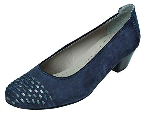 Jenny - Zapatos de vestir para mujer azul ozean/jeans Weite H ozean/jeans Weite H