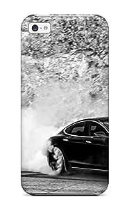 Snap-on Case Designed For Iphone 5c- Tesla Model S 26