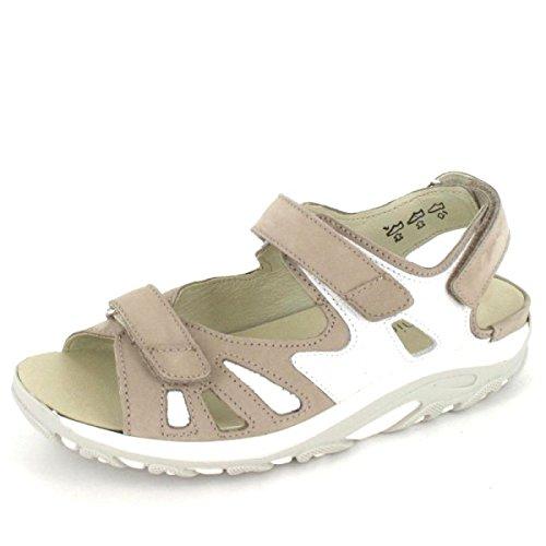 Sandalette Woodruff Hanni Taglia 5,5, Colore: Corda - Bianco