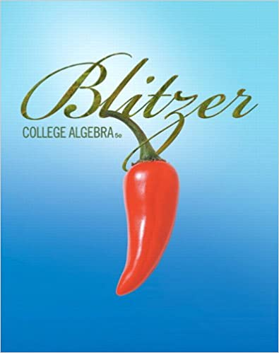 College algebra 5th edition robert f blitzer 9780321559838 college algebra 5th edition 5th edition by robert f blitzer fandeluxe Image collections