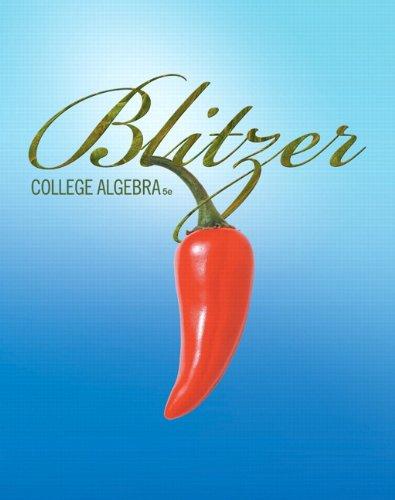 College Algebra (5th Edition)