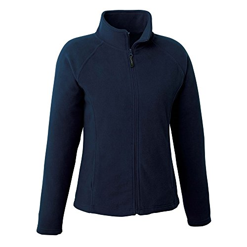 - Landway Women's Form Fitting Cut Micro Fleece Jacket, Navy, Medium
