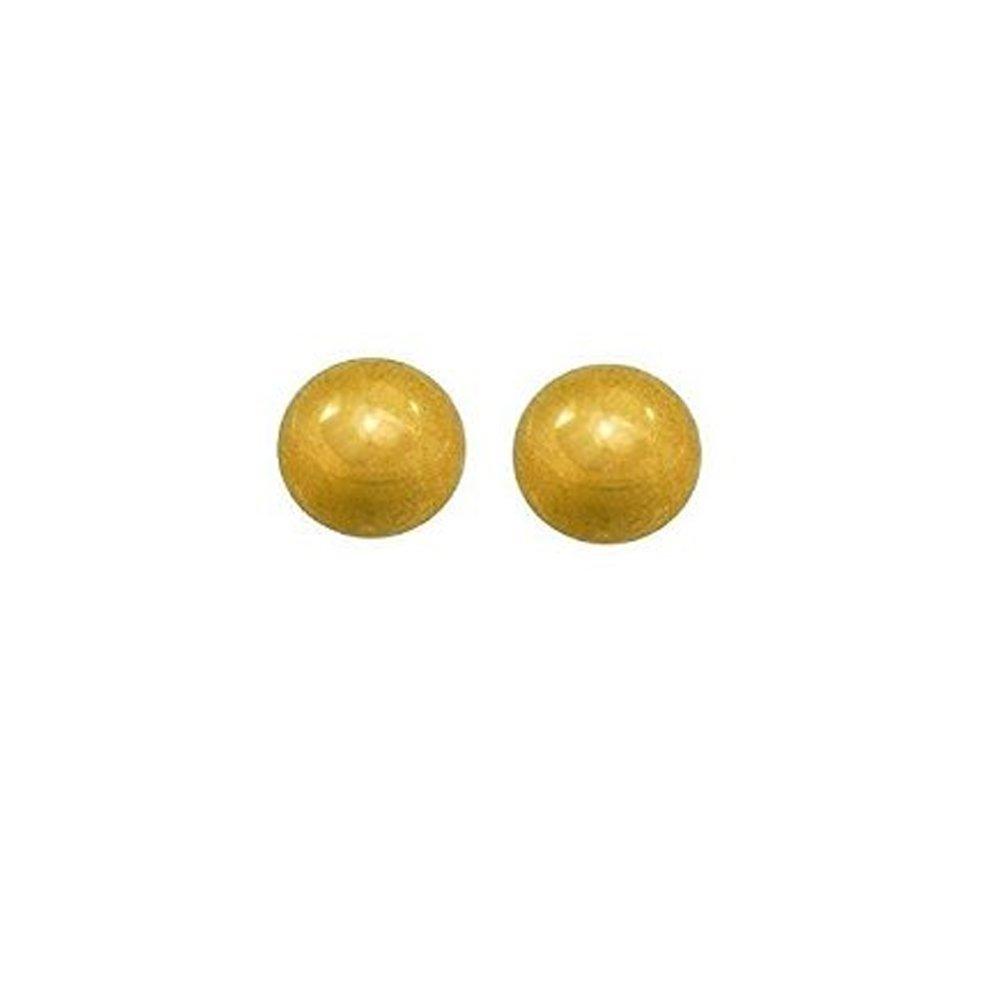 Par CAFLON 9CT balón de Oro pendientes del perno prisionero del ...