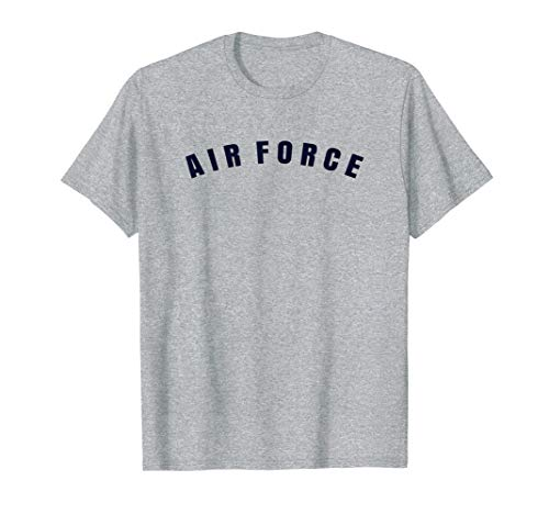 Air Force PT Vintage Military Gray Old T-Shirt