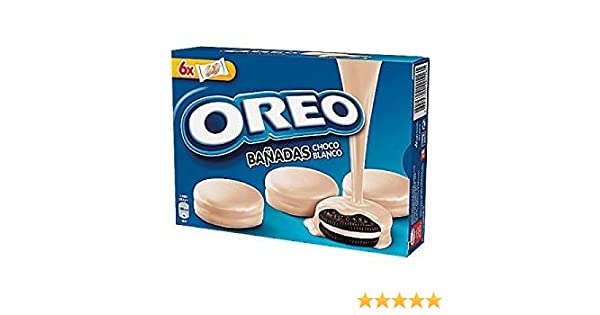 Oreo bañadas en chocolate blanco [Pack de 3]: Amazon.es ...