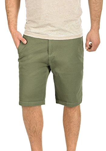 3784 Oliv Shorts Lamego Solid Hombres Chino Dusty HvwcCZ