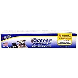 Oratene Antiseptic Oral Care Gel and Gingivitis 1oz by Zymox (Original Version)