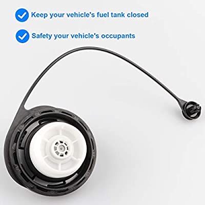 Gas Cap Fuel Tank Cap Assembly Replaces GT231,Compatible with Chevy silverado Suburban gmc Sierra 1500 Yukon XL 1500 ,More