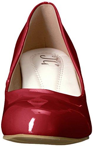 Brinley Co Women's Ann-p Pump Red 479wLPlWl