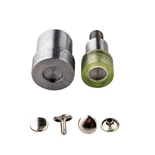 10Mm Double Cap Rivets Setting Tool Die Set for Universal Green Hand Press Machine Riveter
