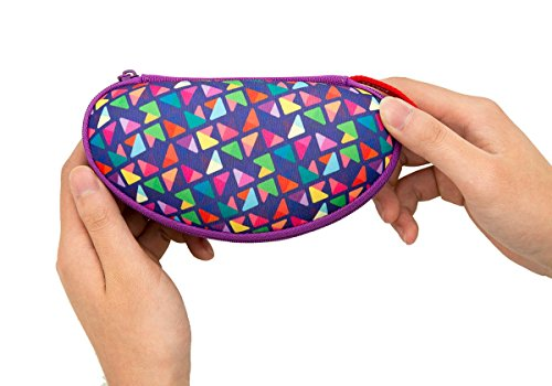 ZIPIT Colorz Box Glasses Case, Purple Photo #2