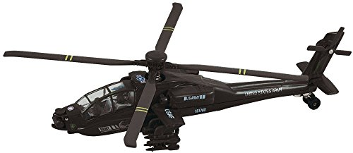 WowToyz Diecast Apache Helicopter Pullback 8