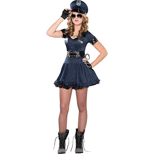 Amscan 8400865 Adult Locked N Loaded Cop Costume - Medium (6-8), Multicolor]()