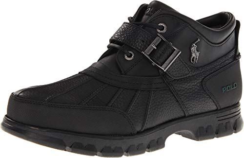 Polo Ralph Lauren Dover III Mens Boots Briarwood Black 812168222-3h2 (14 D(M) US)