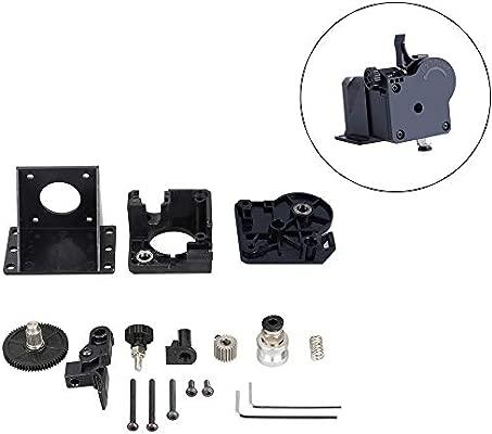 Redrex Actualización partes Extrusora Bowden para CR10, Ender 3 serie Compatible de impresora 3D DIY con V5 y V6 J cabeza Hotend [3:1 del cociente de ...