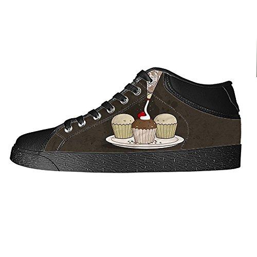 Da Alto Shoes Dolce In Sopra Lacci Bign¨¦ Tela Men's Ginnastica I Di Scarpe Delle Le Canvas Custom wOIv5q5