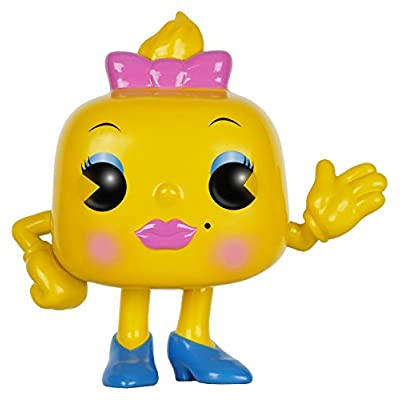 Funko POP Games: Ms. Pac-Man Action Figure: Funko Pop! Games:: Toys & Games