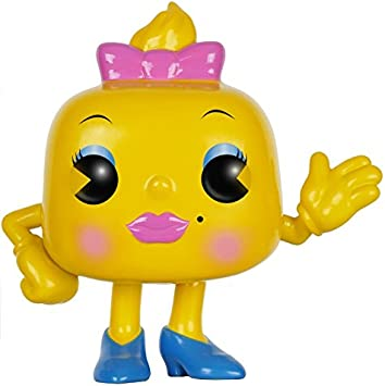 POP! Vinilo - Games: Pac-Man: Ms. Pac-Man: Funko Pop! Games ...