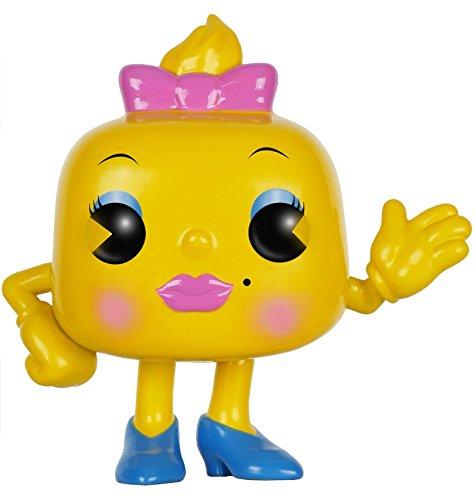 Man Pac Face (Funko POP Games: Ms. Pac-Man Action Figure)