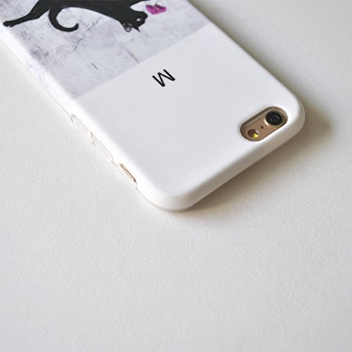 iPhone 6S Plus Fall, pictureslab Weich TPU Kunst Malerei Schutzhülle für iPhone 6/6S Plus 14cm