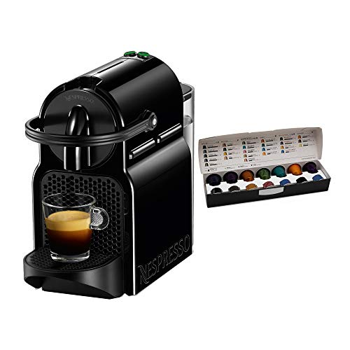 Nespresso Inissia Espresso Maker, Black (Discontinued Model)