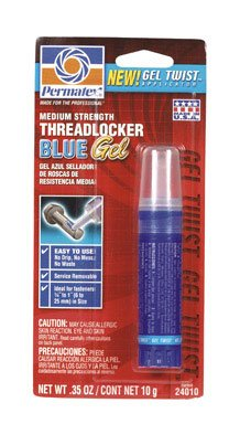 Permatex Threadlocker Blue Gel 10 (Gel Twist Applicator)