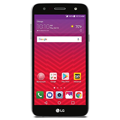 Lg Prepaid Cell Phones - Virgin Mobile LGSP320AVB LG X Charge - Prepaid Carrier Locked - 5.5Inch Screen - 16GB - Titan Black (U.S. Warranty)