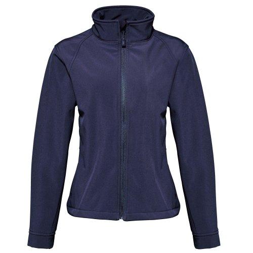 2786 - Chaquetilla modelo 3 layer Softshell Performance (resistente al agua y viento) para mujer Azul marino