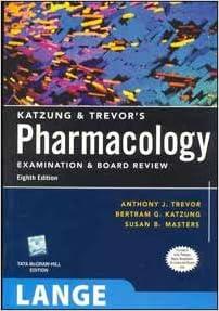 Buy lange katzung trevors pharmacology examination and board flip to back flip to front fandeluxe Choice Image