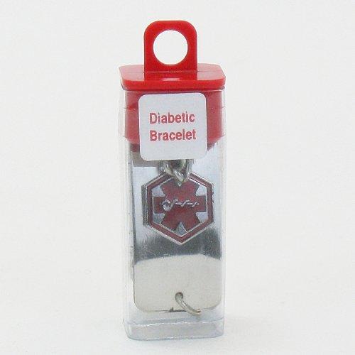 Acu-Life Medical ID Bracelet Diabetic 1 Each (Pack of 2)