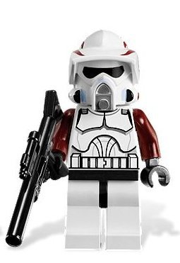 LEGO Star Wars Elite ARF Clone Trooper Minifigure With Long Rifle From Set 9488 ()