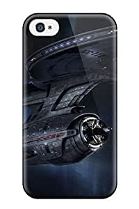 Michael Volpe Case Cover Protector Specially Made For Apple Iphone 4/4S Case Cover Star Trek Classic Ncc 1701 Vehicle