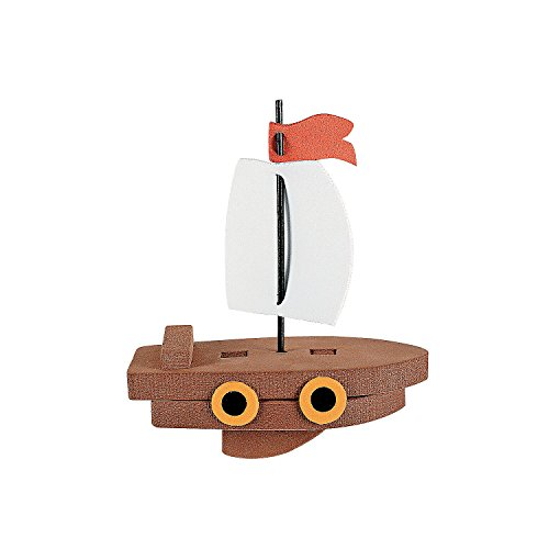 Fun Express 3D Floating Ship Craft Kit (1 Dozen)]()