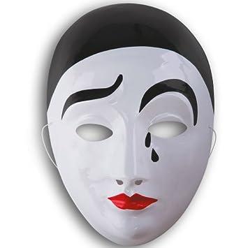 plus de photos Braderie commander en ligne Masque Pierrot adulte - taille - Taille Unique - 219799 ...