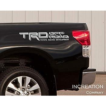 Toyota TRD 4X4 Sport Tacoma Tundra 3 Decals Pre Cut Sticker Decal 2016 2017